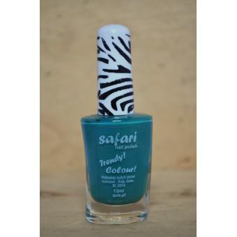 safari blauw metallic