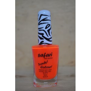 safari neon oranje