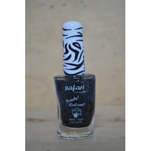 Safari zwart glitter