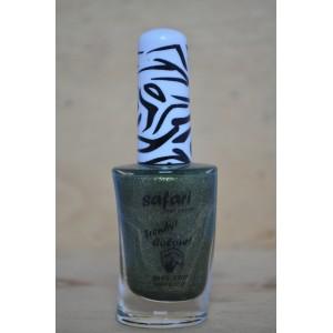 safari donker groen glitter