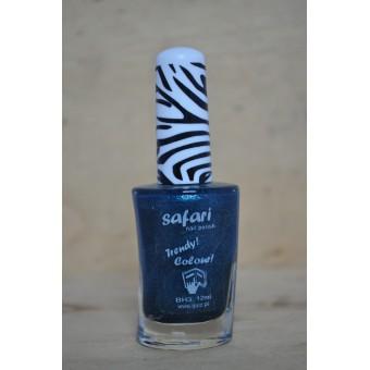 safari blauw/groen glitter