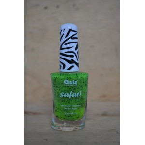 Safari Black dots groen