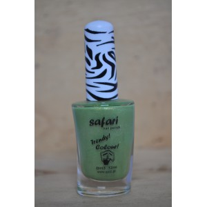 safari licht groen glitter